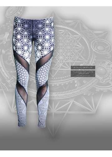 """""""flower of love"""" leggings"""