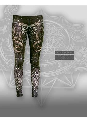 """""""skullodelic"""" leggings"""