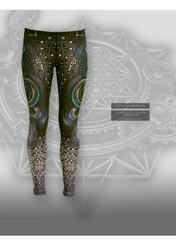 """""""twisted snakes"""" women's leggings with snakes print"""