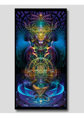 """""""spectral lumo"""" tapestry by..."""