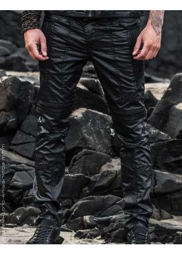 """intergalactic"" men's cyberpunk biker jeans"
