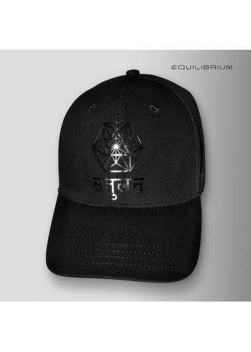 """balance"" black baseball cap"