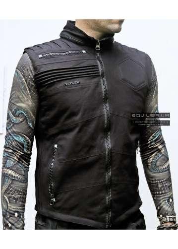 """cyberdroid"" men's sleeveless cyberpunk jacket"