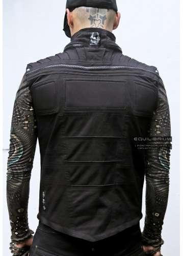 """CaptainPower"" men's sleeveless cyberpunk jacket"