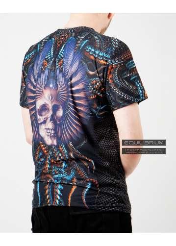 """xenomorph 2.0"" men's biomechanical t-shirt"