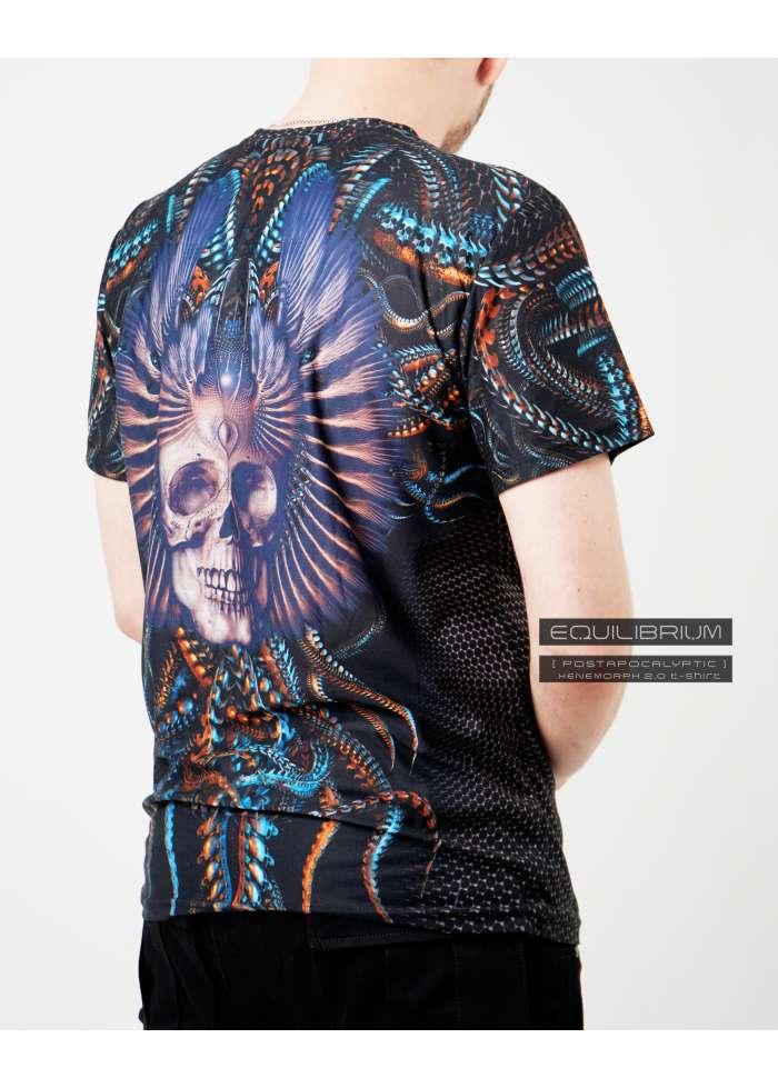 """""""xenomorph 2.0"""" мужская кибер-пиратская футболка"""