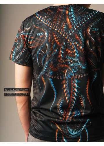 """xenomorph"" men's biomech t-shirt"