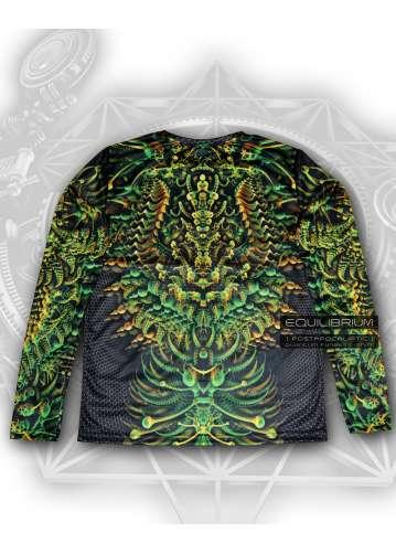 """""""quantum fungus"""" мужская футболка с психоделическим принтом"""