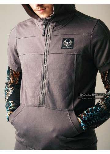 """simplicity"" men's hoodie"