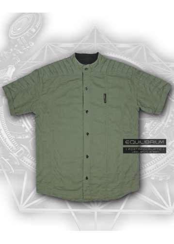 """jedi_shirt green"" мужская рубашка с короткими рукавами"