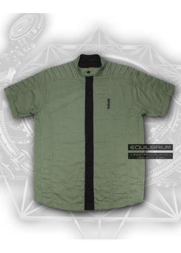 """""""jedi_shirt green 2.0"""" men's designed shirt"""